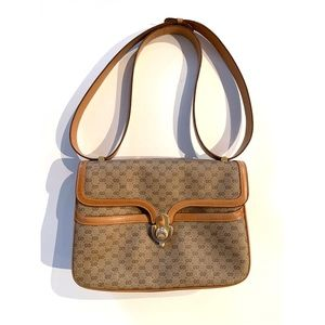 Gucci Vintage Micro GG Shoulder Bag